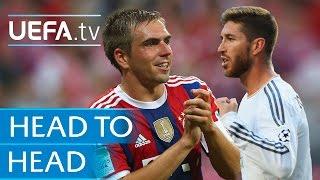 Lahm v Ramos: Head to Head