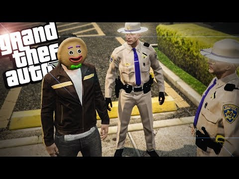 GTA 5 RP - Crazy Police Chase & Talking My Way Out Of Jail - GTA V Funny Roleplay