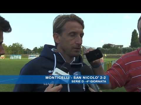 Serie D, il fair play del San Nicolò VIDEO