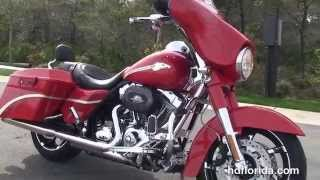 6. Used 2010 Harley Davidson CVO Street Glide Motorcycles for sale - Tampa, FL