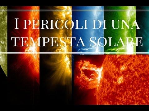 eruzioni solari - un grande pericolo per il pianeta terra!