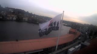 Whitby Mon 23rd Nov 2015 24-Hour Time-lapse (Upriver)