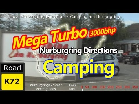 Mega Turbo Nurburgring Local Directions - Camping am Nurburgring