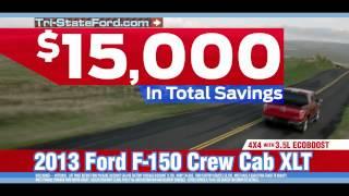 Tri-State Ford in Amarillo, Texas -$15,000 Off F-150 Crew Cab