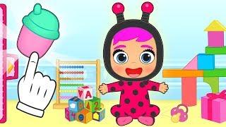 BEBE LILY Disfraz de Lady de Bebés Llorones Lágrimas Mágicas 💥 Dibujos animados infantiles