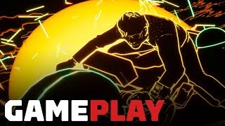 No More Heroes: Travis Strikes Again - Golden Dragon GP Drag Race Gameplay by IGN