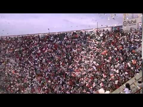Recibimiento Huracán vs Douglas Haig - Huracán TV - - La Banda de la Quema - Huracán