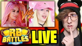 Cybernova VS Leah Ashe!! (LIVE REACTION)  Roblox RB Battles Championship  1 Million Robux Prize