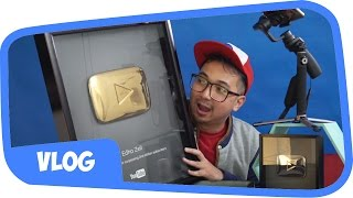 Video UNBOXING GOLD PLAY BUTTON !! 24 KARAT BROO !! 😍 MP3, 3GP, MP4, WEBM, AVI, FLV November 2017