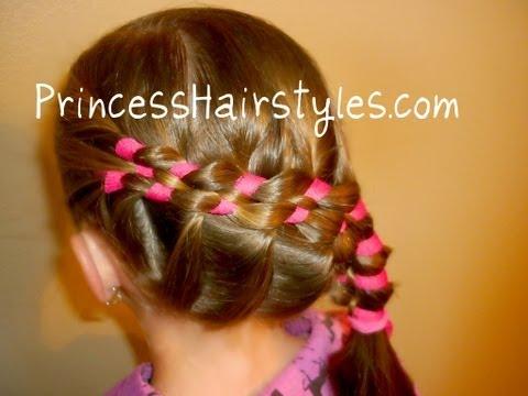 """Sidewinder Ribbon Braid """"French Braided Hairstyles"""""""