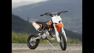 10. KTM 50 SX exhaust sound and acceleration compilation
