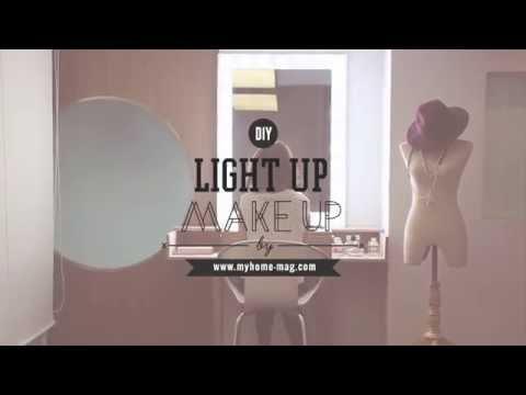 Light Up Make Up โต๊ะเครื่องแป้งระดับช่างมือโปร