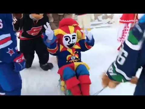 Приключения маскотов на Матче Звёзд: SOS Детская деревня (видео)