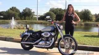 10. Used 2006 Harley Davidson Sportster 1200 Custom Motorcycles for sale