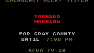 Pampa (TX) United States  city images : EAS: Tornado Warnings in Pampa, TX