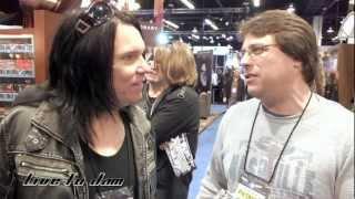 Lizzy Borden - NAMM 2013 - Discussing his favorite rock guitar riffs