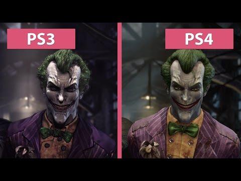 Batman Arkham Asylum – PS3 vs. PS4 Return to Arkham Remaster Graphics Comparison