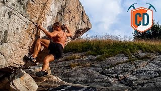 This Boulder Is Usually Under Water... | Climbing Daily Ep.1529 by EpicTV Climbing Daily