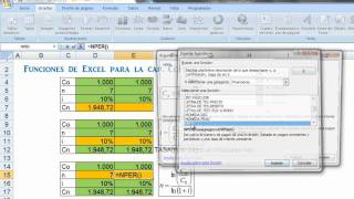 Funciones De Excel Para La Capitalización Compuesta