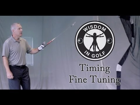 Timing Fine Tuning - Shawn Clement's Wisdom in Golf