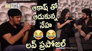 Video Akash Puri and Neha Shetty Love Proposal : Hilarious Video - Filmyfocus.com MP3, 3GP, MP4, WEBM, AVI, FLV Desember 2018