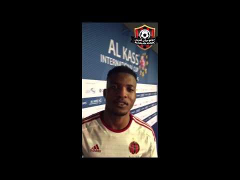 ACMilanArabic Interview with Juvenal Junior