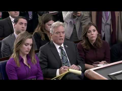 WATCH THE DISCUSSION TURN HEATED WITH MEDIA: Press Secretary Sean Spicer Press Conference Briefing
