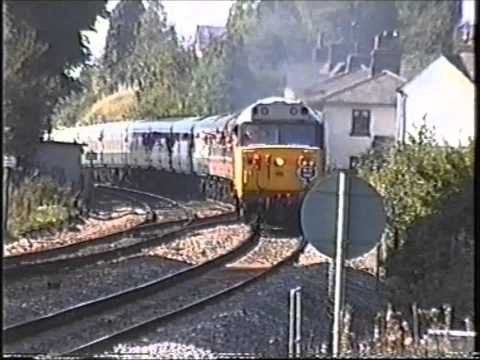 50031 'Hood' & D444 'Exeter' with 'The Hunslet Hoover' Ra...