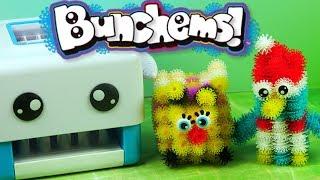 Video Bunchems Sprytna Maszynka Bunchbot • Pingwin i Pszczółka • Kreatywne zabawki i tutorial MP3, 3GP, MP4, WEBM, AVI, FLV Desember 2017