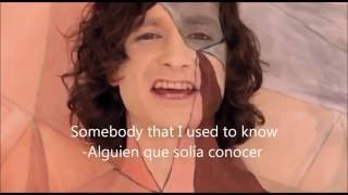 Gotye - Somebody that i used to know * Subtitulado en español e ingles