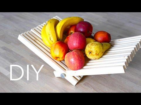 DIY Obst Schale - selbst gemacht  + BONUS-Material