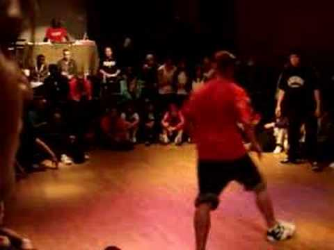 IBE Footwork Battle at UK Champs 2007 Day 1
