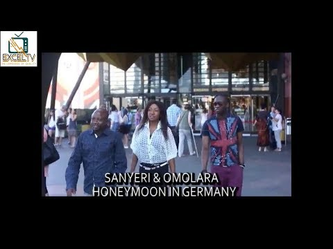 Afonja Sanyeri and His Wife Omolara Honeymoon in Germany