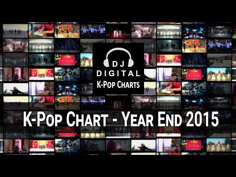 Top 200 K-Pop Songs Chart - Year End 2015