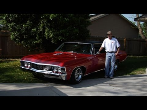 Butch Dysart and his 1967 Impala SS-427