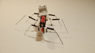 "This is a very simple six legged walking robot (hexapod) that is inspired by walking stick insect by shape. This robot is made from Ice cream stick, paperclips, drinking straw, tapes, gear motor, wire, screws, nuts and lock nuts.The idea is inspired by  the work of Stepan Glushkov, a Russian inventor. The hexapod has the same walk cycle as Stepan's paper clip cockroach robot, but it has different mechanism that  produces it. I use different method to gain the same result. Click the link to watch Stepan's method: https://www.youtube.com/watch?v=qU4dORmqdZs&list=UUCFZYfoEoeaW2uKS9HfIgnQand his tutorial:https://www.youtube.com/watch?v=jL9GrK18skw&list=UUCFZYfoEoeaW2uKS9HfIgnQ&index=7Some materials and technique that I used for making this hexapod are inspired by Grandadisanoldman's method in making cool projects. Click the link to visit grandad's channel: https://www.youtube.com/user/GrandadIsAnOldManMusic:""Rollin at 5 - electronic"" Kevin MacLeod (incompetech.com) Licensed under Creative Commons: By Attribution 3.0http://creativecommons.org/licenses/by/3.0/Follow me on:Facebook: https://www.facebook.com/Homemade.RobotsGoogle+: https://plus.google.com/u/0/+galopante78/"