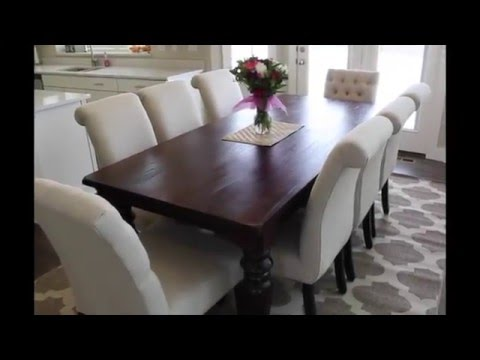 How To Correctly Measure for a Dining Room Rug | Six Sisters Stuff