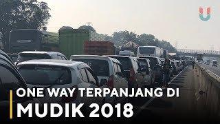 Video One Way Terpanjang di Mudik 2018 MP3, 3GP, MP4, WEBM, AVI, FLV Juli 2018