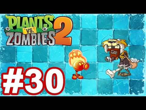 Zap zap - PLANTS VS ZOMBIES 2 It's About Time - Gameplay Walkthrough Part 30 - Frostbite Caves iOS/Android