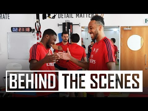 Arsenal Return For Pre-season Training | Behind The Scenes