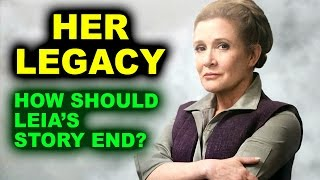 Carrie Fisher's Legacy - Star Wars Episode 9 & Digital Princess Leia by Beyond The Trailer