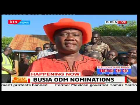 Ballot papers have delayed to arrive in voting centers for approximately three hours in Busia County