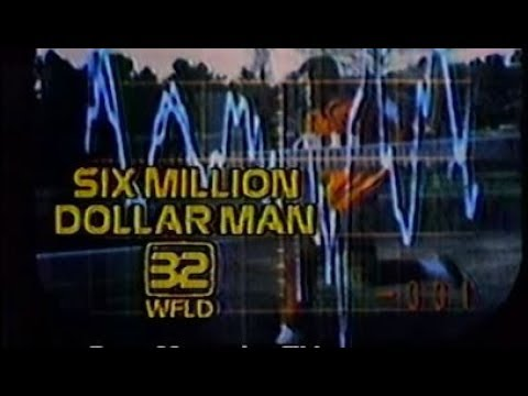 """WFLD-TV - The Six Million Dollar Man - """"The Bionic Woman: Part 1"""" (Complete Broadcast, 11/8/1978) 📺"""