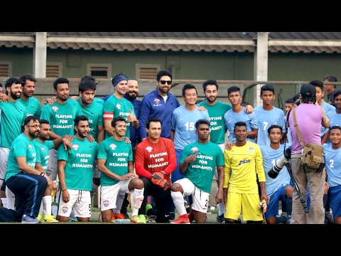 Abhishek Bachchan Graces Nike Premier Cup U 16 Football Tournament Exhibition Match