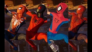 Peter Crafts the Advanced Suit Cutscene (With