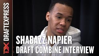 Shabazz Napier Draft Combine Interview