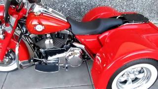 10. 2008 Police Firemans Edition Harley-Davidson Trike 103