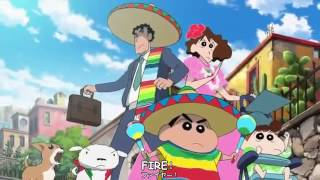 Shin Chan Movie 2015 My Moving Story Cactus Large Attack