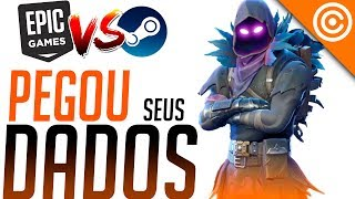 Epic Games estaria ROUBANDO as SUAS informações da STEAM