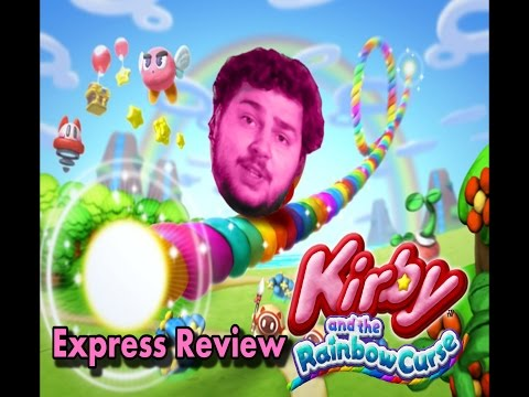 Kirby and the Rainbow Curse. Express Review.